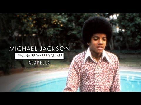 Jackson 5  Michael Jackson  I Wanna Be Where You Are Mastered Acapella