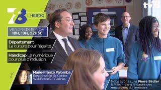 7/8 L'Hebdo. Edition du vendredi 15 novembre 2019