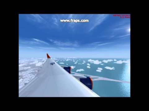 FS2004 - Moscow  - Tel Aviv - IL-96 - Aeroflot