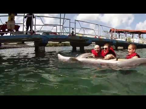 GoPro Dolphin Swim - Cuba 2014
