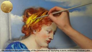 How to Oil Paint a Female Portrait in Profile - Allegory of Painting
