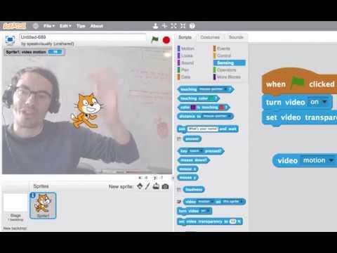 Download Tutorial: Video Sensing in Scratch