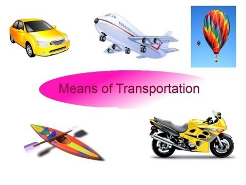 Means of transportation flash cards for preschool children - Video for kids