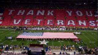 Salute to Veterans - Lambeau Field - Nov 14, 2011