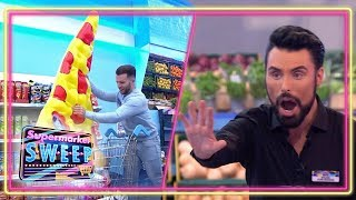 Contestants Go WILD In The Aisles | Supermarket Sweep