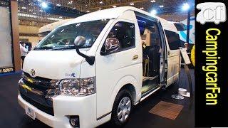 【ジョイン】ふたり旅専用レイアウトで豪華な室内を持つハイエースバンコン Japanese Camper van using Toyota HiAce
