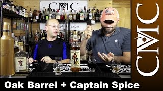 Captain Morgan Spiced Rum, Oak Bottle Aging
