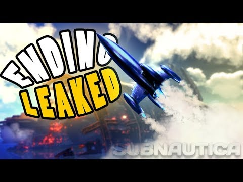 Subnautica - THE ROCKET ENDING WAS LEAKED?! WAS THE DOUBLE GUN THEORY PROVEN? - Subnautica Gameplay