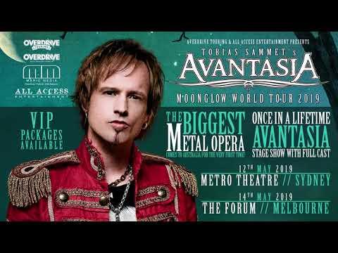 Tobias Sammet from Avantasia talks new album 'Moonglow' and Australian tour