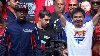 Mayweather vs. Pacquiao: Mayweather WINS Fight in Las Vegas