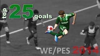 PES 2014 - Top 25 Goals [HD]