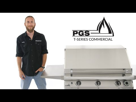 PGS T-Series Commercial Gas Grill Review | BBQGuys.com
