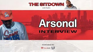 Arsonal Talks Cassidy Battle, Linking Up w  Chris Brown, BET Cypher & More