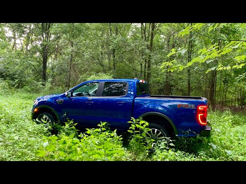 Ford Ranger FX4 Lariat Trail Control Demo & How To - Hill Decent Control