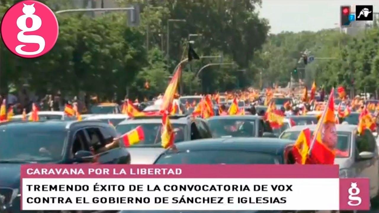 Fase Libertad: VOX abandera la oposición al Gobierno