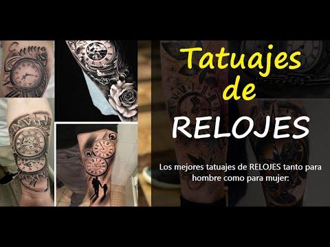 Tatuajes De Relojes Antiguos De Bolsillo De Arena