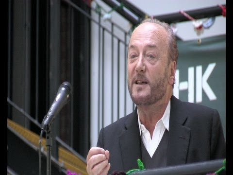 George Galloway Lecture in Belfast