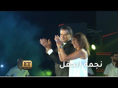 💫 روجينا نجمة حفل راغب علامة والشاب خالد في مصر