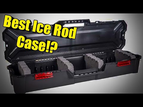 Best Budget Ice Fishing Rod Case In 2019!?