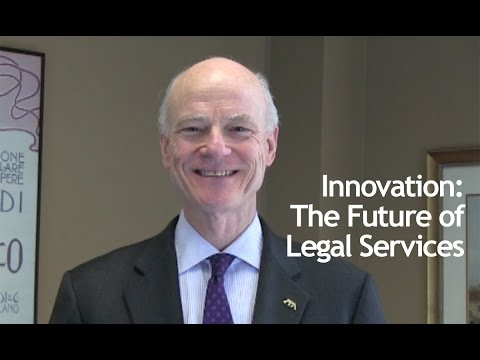 Innovation: The Future of Legal Services