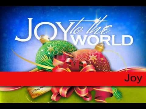 Joy to the World Lyrics Christmas Carols - YouTube