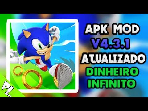 Sonic Dash Apk Mod Atualizado 2019 V 4.3.1 [dinheiro Infinito]