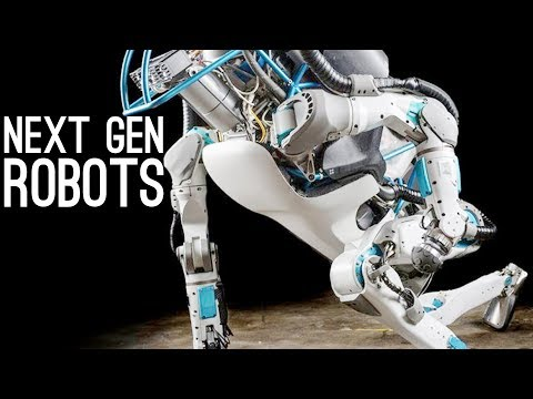 Next Generation Robots - Boston Dynamics, Asimo, Da Vinci, S