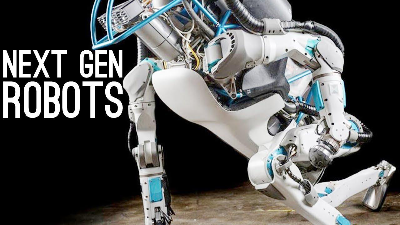 next generation robots boston dynamics asimo da vinci sofi