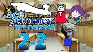 phoenix wright ace attorney in a nutshell case 2 trial