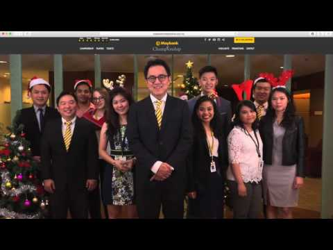 Maybank Christmas Greetings 2016