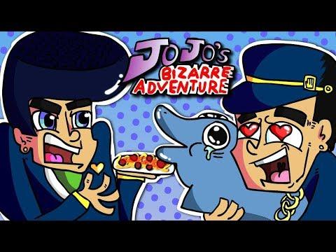 Jojo's Bizarre Adventure (part's 1-8 In A Nutshell Animated)