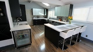 Modern Kitchen Remodel With Sophia Cabinets In San Clemente By Aplus Interior Design & Remodeling