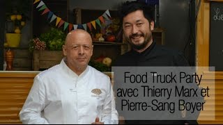 Food Truck Party : le club sandwich revisité (ou bread maki) de Thierry Marx