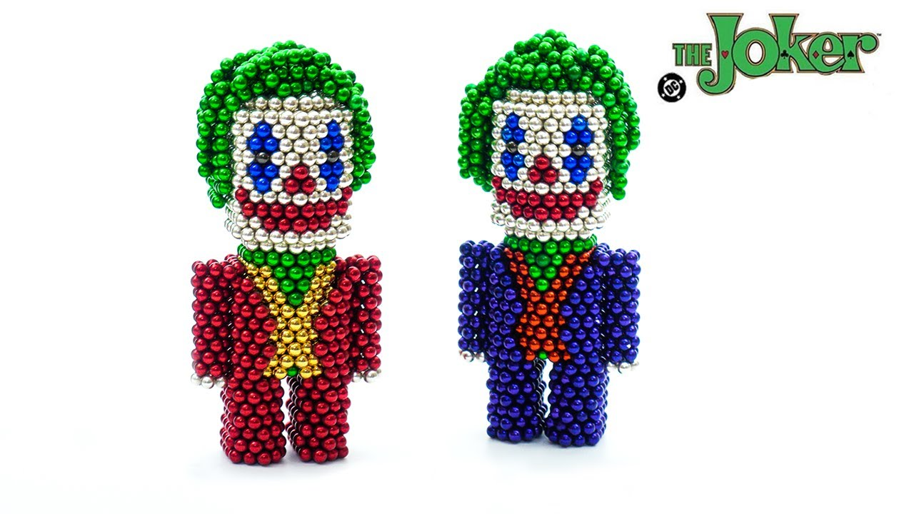 DIY | How to Make Joker with Magnetic Balls (ASMR) Satisfying