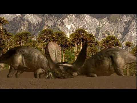 Torosaurus fight - Бой торозавров [RUS]