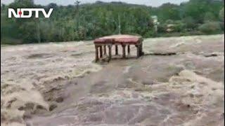 Heavy Rain Lashes Parts Of Kanyakumari In Tamil Nadu