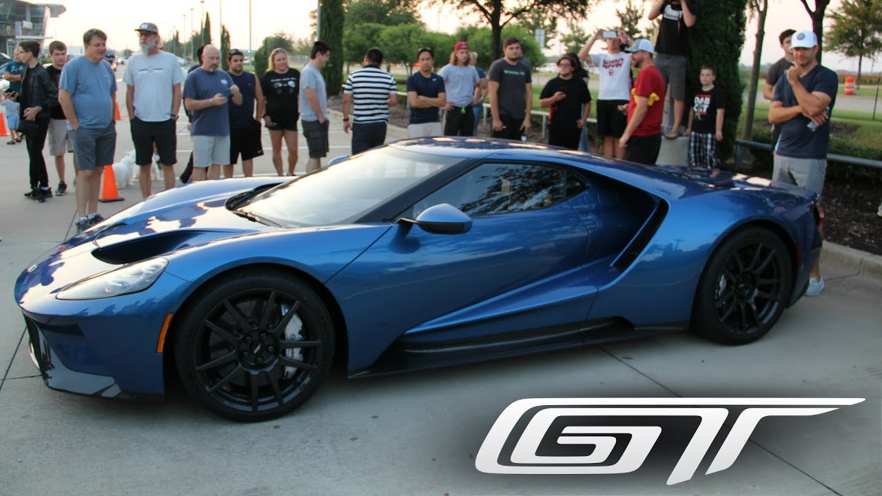 Ford Gt Steals The Show