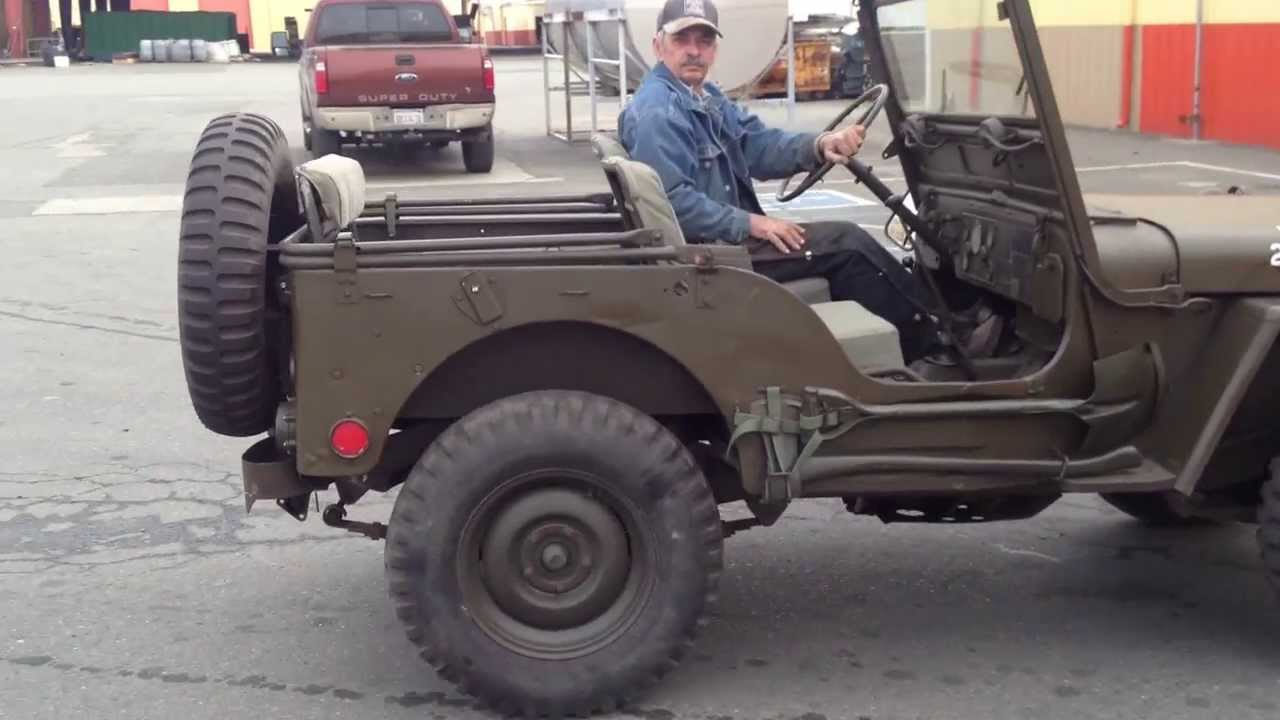 Jeep Willys For Sale >> 1952 WILLYS M38 JEEP - YouTube