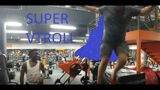 *THINKING I'M SUPERMAN IN THE GYM!!!* VLOG Ep2 Going to the gym