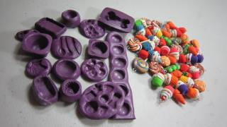 How to make silicone molds for polymer clay miniatures - EP