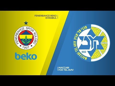 Fenerbahce Beko Istanbul - Maccabi FOX Tel Aviv Highlights | Turkish Airlines Eu