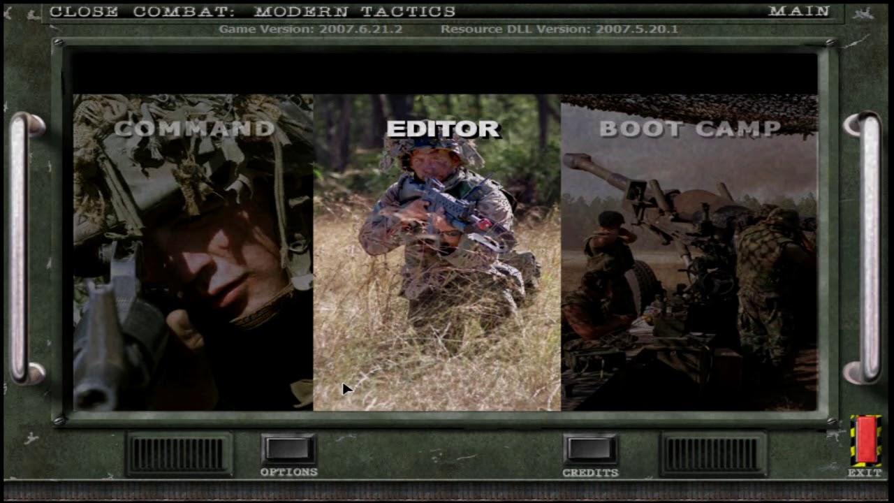 Close combat modern tactics