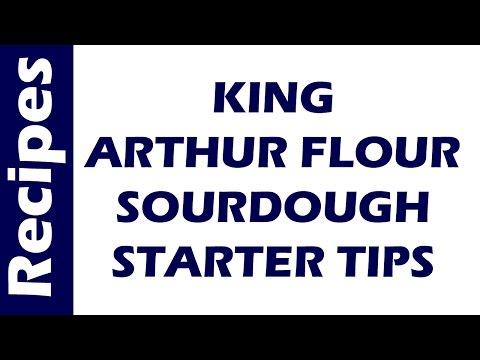 king-arthur-flour-sourdough-starter-tips-1-|-bread-recipes-|-easy-to-make-bread-recipe