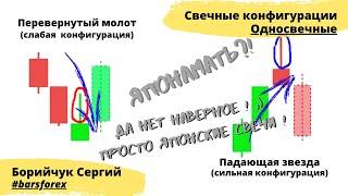 Обучение Форекс. Семестр 2. Урок 2. Односвечные конфигурации