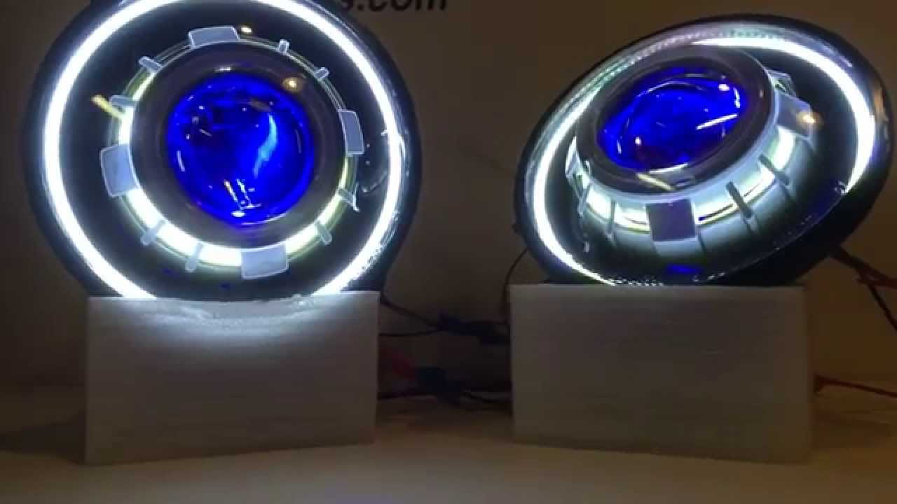 Jeep Wrangler Projector Headlights Sealed 7 Inch Round