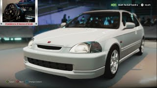 Forza Horizon 2 - Test Driving Ek9 B16b Civic Type R w/Wheel Cam