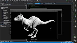 RibTools rendering the Killeroo model with displacement mapping
