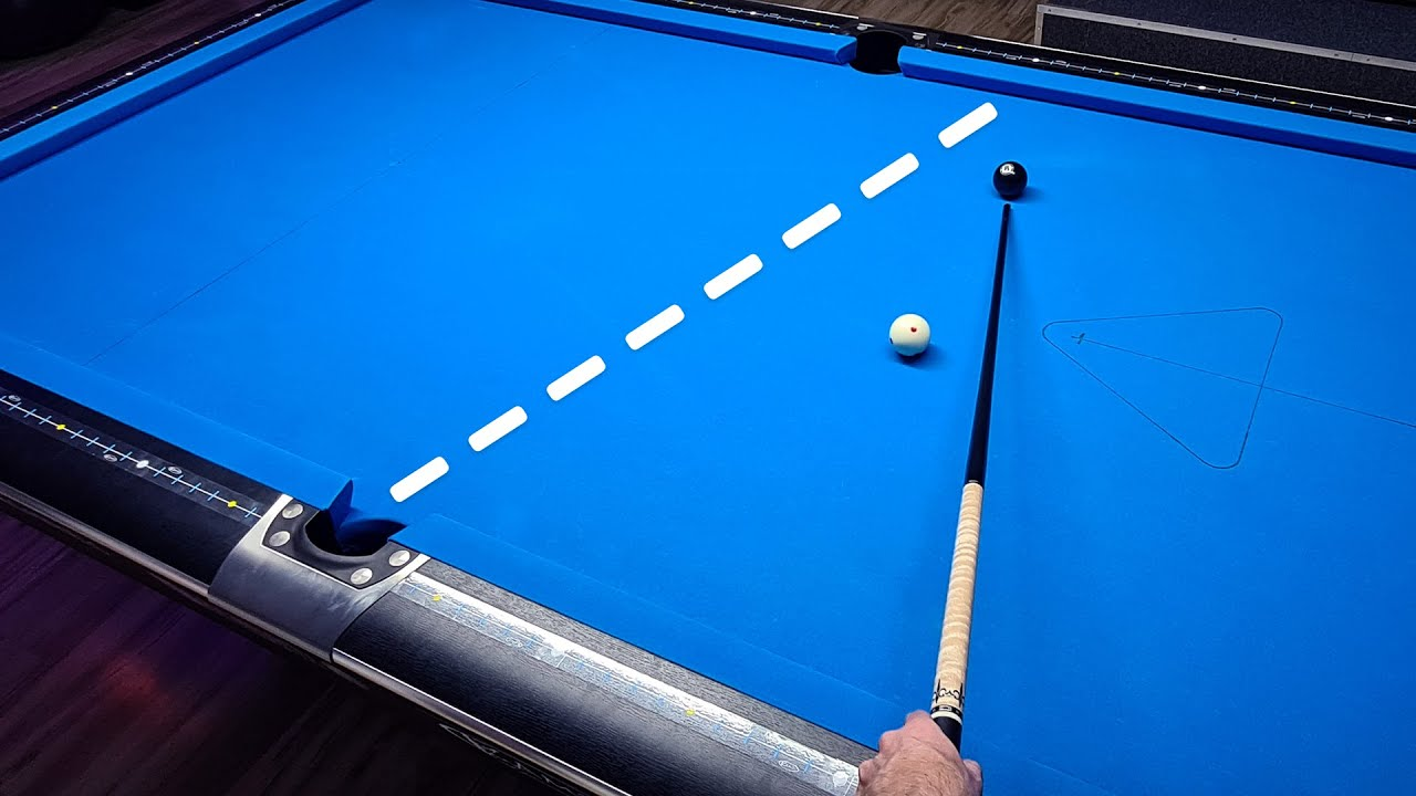 Pool Lesson | How To Calculate One Rail Bank Shots