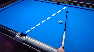 Pool Lesson | H๐w To Calculate One Rail Bank Shots