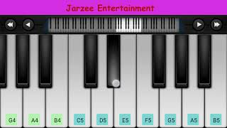 Jarzee Entertainment Piano notes, Midi file and Piano Tutorials